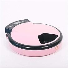 CSJ インテリジェント給餌プラスチック自動フィーダー犬と猫自動タイミング装置ドッグフードキャットフード機5食事ピンク 省力化