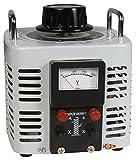 MC POWER - Ringkern-Stelltrafo | V-8000 | 0-250 V, 8 A, 2.000 W, NICHT galvanisch getrennt