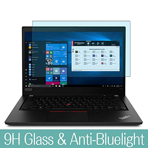 Synvy Anti Blue Light Tempered Glass Screen Protector Compatible with Lenovo ThinkPad P14s 14' Visible Area 9H Protective Screen Film Protectors (Not Full Coverage)