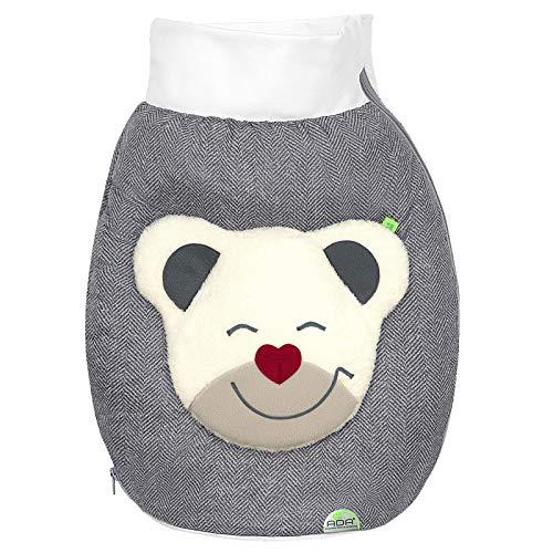 Odenwälder BabyNest Mucki Outdoor-Nestchen für Babyschalen new woven titan 11700-1079
