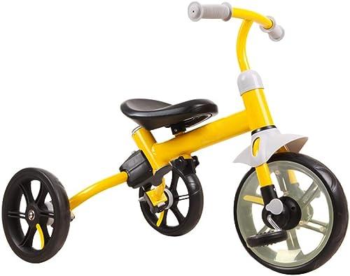 marca de lujo XYAOYAN Triciclos Triciclo Triciclos para Niños Triciclo Evolutivo Evolutivo Evolutivo Bebé 2 En 1 Trike Kinderkraft Triciclo Estructura Ligera Y Fácil De Manejar 2 Colors ( Color   amarillo )  envío rápido en todo el mundo