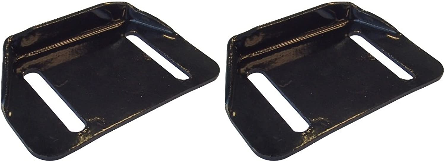(2) Snowblower Skid shoes for Cub Cadet Snow Thrower 726TDE Replaces 784-5580-0637