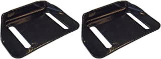 Set of Two Skid Shoes for Troybilt SnowThrower Storm 2840 2410 2620 Replaces 784-5580-0637