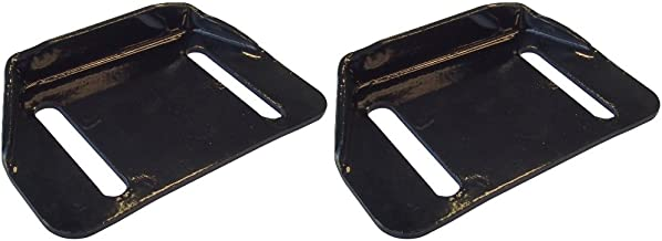 (2) Snowblower Skid Shoes for MTD Yard Machines Columbia Replaces 784-5580-0637