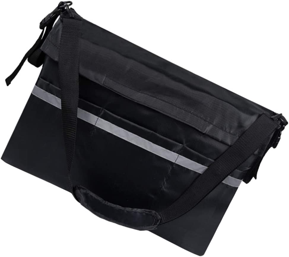 Healifty Wheel Chair Storage Bag with Strap Reflective Stripe Wh