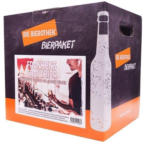 Bierothek® Bierpaket Frankens Craftbier (12 Flaschen Craft Bier | außergewöhnliches Geschenk)