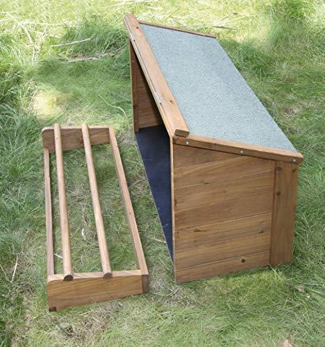 Kerbl Legenest zu Kerbl Kleintierstall für Hühner 82807, 85 x 37 x 48 cm - 2
