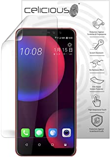 Celicious Vivid Plus Mild Anti-Glare Screen Protector Film Compatible with HTC U11 Eyes [Pack of 2]