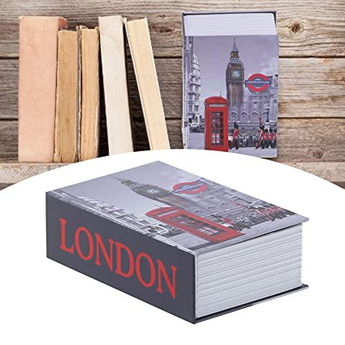 Caja de seguridad, caja de seguridad para libros, mini caja...