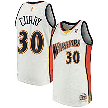 Outerstuff Stephen Curry Golden State Warriors NBA Mitchell & Ness 2009-10 Hardwood Classics Boys Youth 8-20 Navy Swingman Jersey  Youth Small 8