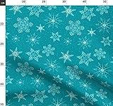 Verschnörkelt, Schneeflocken, Weihnachten, Muster,