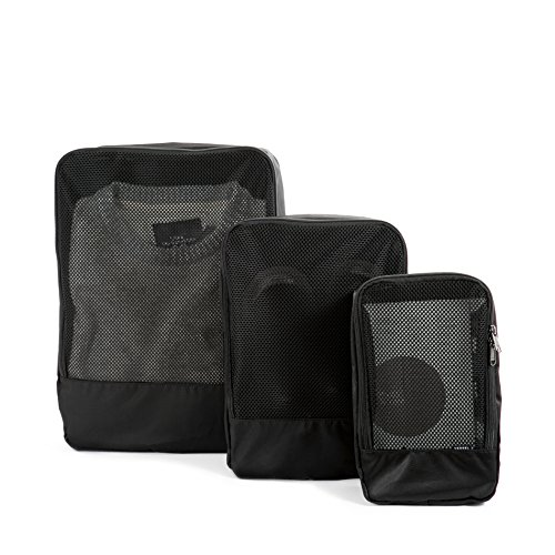 Vessel Travel Organizers - 3 Pack (Black)