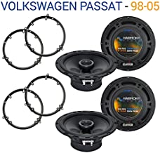 Compatible with Volkswagen Passat 1998-2005 Factory Speaker Upgrade Harmony (2) R65 Package New