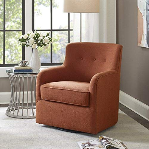 Incredible Madison Park Adele Swivel Chair Spice See Below Download Free Architecture Designs Scobabritishbridgeorg