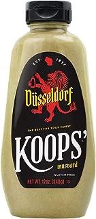 Koops' Düsseldorf Mustard, 12 oz. Bottle, 4-Pack