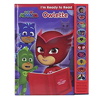 PJ Masks - I m Ready to Read with Owlette Sound Book PI Kids Play-A-Sound