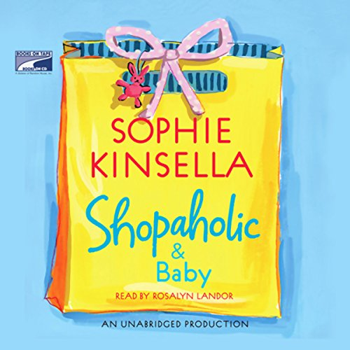 Shopaholic & Baby audiobook cover art