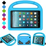 Kids Case for All-New Fire 7 2019/2017 - TIRIN Light Weight Shock Proof Handle Kid–Proof Cover Kids Case for Amazon Fire 7 Tablet (9th/ 7th/ 5th Generation, 2019/2017/ 2015 Release)(7' Display), Blue