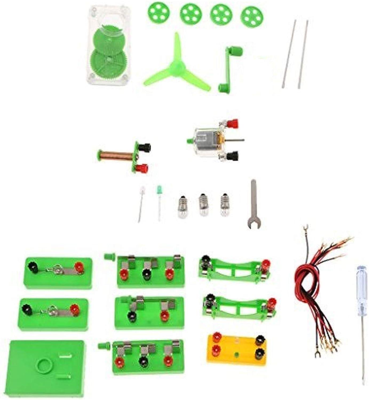 Glasprodukt  SYYP Einfache Montage Physik Experiment Serie Paralleler Elektromagnetkreis Experimenteller Generator Laborzubehr Y0426