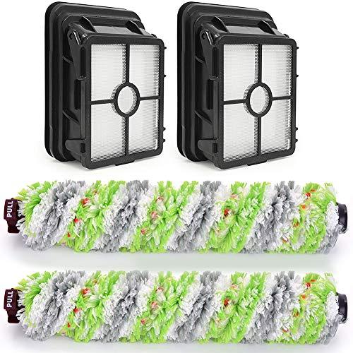 Anwor 4 Stück Zubehör für Bissell Crosswave 3-In-1, Bürstenrolle Und Filter für Bissell Crosswave 3-In-1 Ersatzteile/Austauschsets für Bissell Crosswave 3-in-1 Nass- & Trockensauger