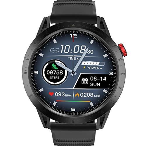Smartwatch Orologio Fitness con 1.3'' Schermo a colori tattile completo Impermeabile 3ATM Fitness Tracker Cardiofrequenzimetro Pressione Sanguigna Monitor Nuoto per Android e iOS