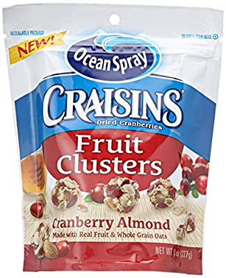 Craisins Fruit Clusters Snack, 8 Ounce