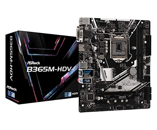 ASRock B365M-HDV Intel B365 Chipsatz-Motherboard