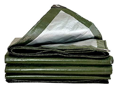 XH Groß for Planendach-Zelt Boot RV oder Pool-Abdeckung, Tarp Abdeckung wasserdichte Heavy Duty Thick-Material (Color : Green, Size : 5x7m)