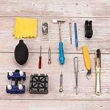 Kit di riparazione di orologi professionale Design ragionevole Strumento di pulizia dell'orologio Strumento di apertura della copertura Riparazione del cinturino dell'orologio per