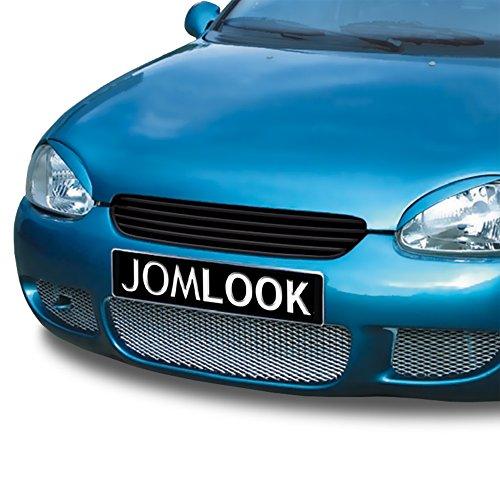 JOM Car Parts & Car Hifi GmbH 6320028OE Kühlergrill ohne Emblem, schwarz