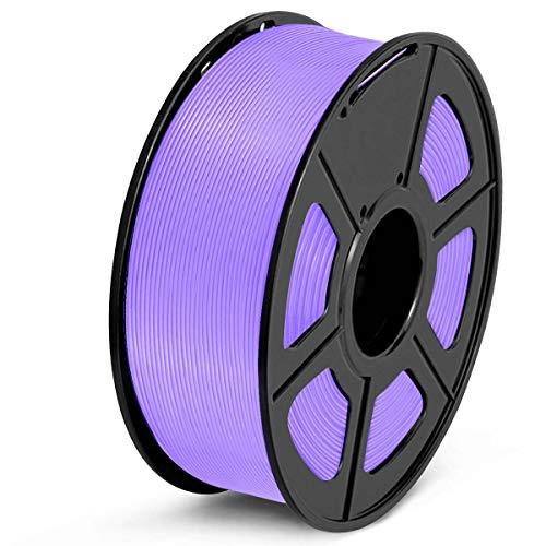 SUNLU PLA Filament 1.75mm 3D Printer Filament PLA 1kg Spool (2.2lbs), Dimensional Accuracy of +/- 0.02mm PLA Purple