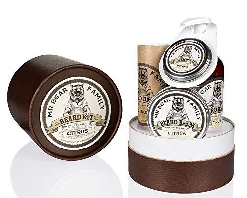 Mr Bear Family Beard Kit Citrus, Scatola Marrone