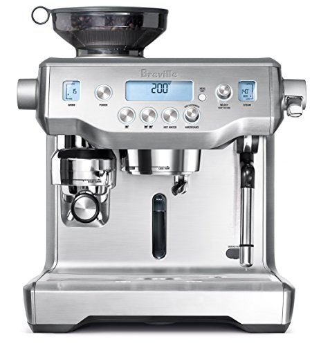 front view of the Breville Oracle