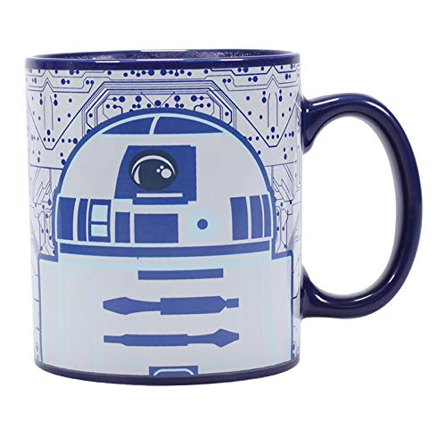 Half Moon Bay Star Wars Thermoeffekt Tasse R2-D2 350ml Keramik 400ml blau weiß