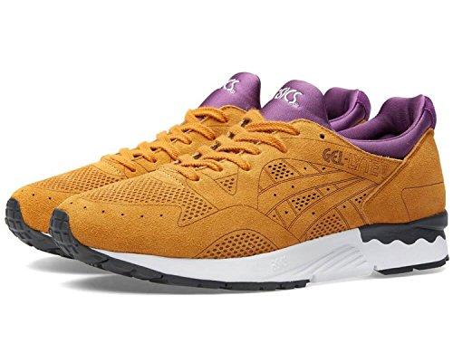 ASICS Gel-Lyte V Laser Cut Pack Unisex Sneaker Farbe: Hellbraun/Lila (7171); Größe: EUR 38 | US 6 | UK 5