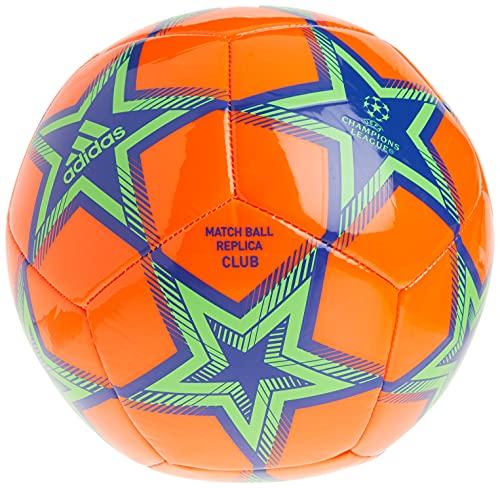 adidas unisex-adult Finale 21 Club Soccer Ball Solar Orange/Bold Blue/Solar Green 5