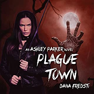 Plague Town audiobook cover art