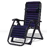 HWBB Chaise longue pliable et inclinable pour l'extérieur, zéro gravité avec coussin de massage, chaises longues extra larges pour terrasse, jardin, camping