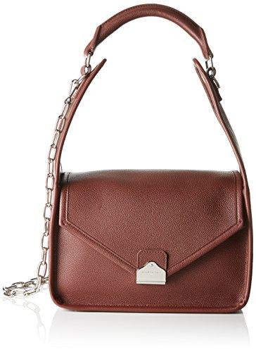 Balenciaga 443598 - Bolso de Hombro de Cuero Mujer, Color Rojo, Talla 15x19x28 cm (B x H x T)