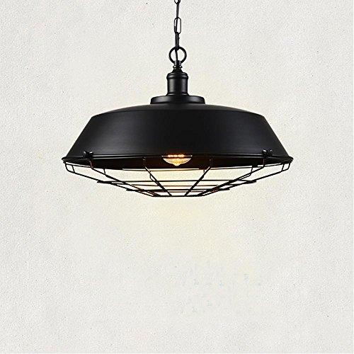 Pendule Lampe 6x gu10 noir Lustre Lampe suspension Luminaire Loft Vintage Couverture