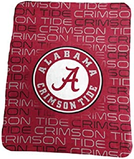 Collegiate 50X60 Classic Fleece Patterned Throw