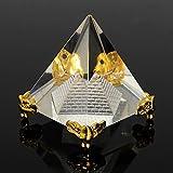 Material: Kristall Dieses kraftvolle Feng Shui Amulett bringt Ruhe und Harmonie in Ihr Zuhause oder Ihren Arbeitsplatz. Verwenden Sie für Reiki, Heilung, Meditation, Chakra Balancing oder Ritual. Kann auch in Verbindung mit einem Chakra-Zauberstab ve...