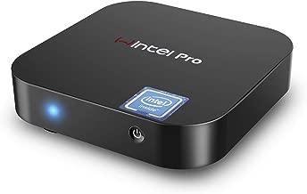 Wintel Pro Mini PC, Fanless,Intel x5-Z8350 HD Graphics Mini Desktop Computer,Windows 10 64-bit,DDR3 2GB 32GB eMMC,4K HD,Dual Band WiFi AC,Bluetooth 4.2 (2GB/32GB)