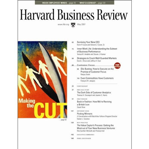 Harvard Business Review, May 2007 audiobook cover art