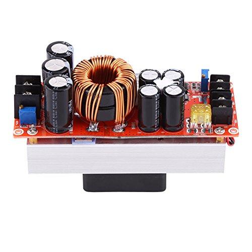 1500W 30A Regulador de voltaje de control numérico DC-DC Aumento del convertidor Módulo de fuente de alimentación incremental en 10~60V Salida 12~90V