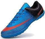 Ikeyo Zapatos de fútbol Hombre NiñosProfesionales Botas de Fútbol Aire Libre Atletismo Zapatos de Entrenamiento Unisex