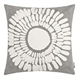 HWY 50 Gray Grey Decorative Throw Pillow Covers 18x18...