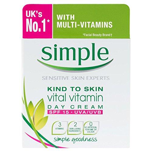 Simple Kind to Skin Vitamine Vital Day Cream SPF15 UVA/UVB 50 ml