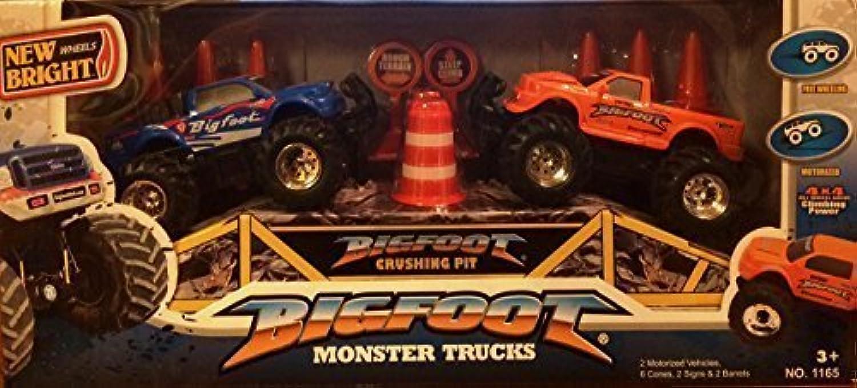 precioso New Bright Wheels Bigfoot Monster Trucks Set (2 Motorized Motorized Motorized Trucks) by New Bright by New Bright  minoristas en línea