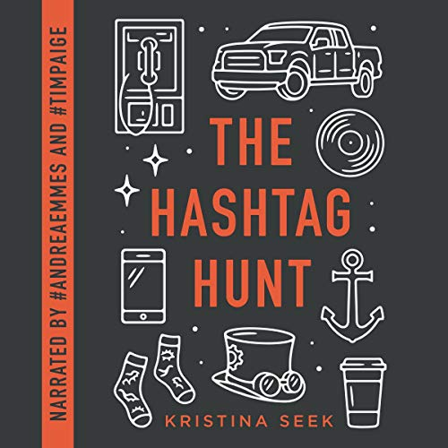 The Hashtag Hunt audiobook cover art